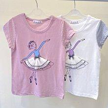 【現貨125-165】韓國童裝~春夏大童 BLUE TEEN 舞衣女孩棉T 短袖上衣