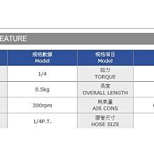專業級 氣動板手 90度 PRW-6076P 專利超迷你型 正港MIT台灣製造 POWERFUL