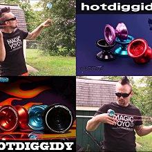 奇妙的溜溜球世界 Hotdiggidy 專業玩家設計 性能優異 操控靈活輕巧 爆發力十足 可頂指 送四大贈品+教學光碟
