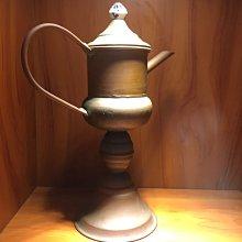歐洲 古董 銅製 老油壺