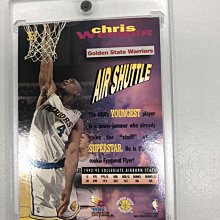 93/94 Topps Stadium Club Frequent Flyers Upgrade Chris Webbe