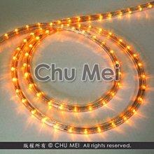 110V-黃光LED三線非霓虹燈50米 - led 燈條 彩虹管 圓三線 非霓虹 水管燈 聖誕燈 管燈 條燈 裝飾燈