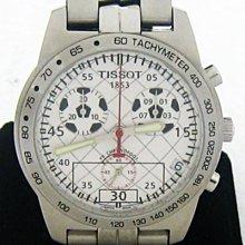 順利當舖  Tissot/天梭  限量chronofoot大錶徑三盤計時足球運動錶款