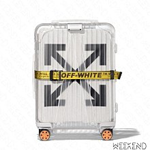 【WEEKEND】 RIMOWA X OFF WHITE 現貨 聯名 See Through 行李 登機箱 透明 白色