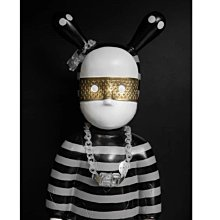►DR.DESIGN│DR32614-特價 小眾 狂野 壓克力材質 戰術扣 凹造型 男女 磨砂半透明 手鍊/項鍊