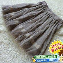 ❤厤庭童裝舖❤低價出清【F049】素面大童灰色澎澎紗裙/短裙(10A/12A)