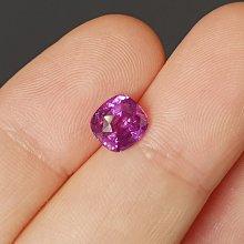 揚邵一品紫色(附權威證書)2.78克拉天然藍寶石,整顆火光好顏色美值得收藏 馬達加斯加
