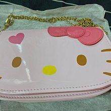 全新Hello kitty側背鏈包
