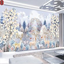 【格格屋】4h十字繡01新款鑽石畫滿繡客廳大幅大氣麋鹿發財樹自己手工鑽繡