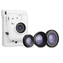 【東京正宗】 LomoInstant 拍立得 相機 White Edition + 3款鏡頭套裝 白 三鏡組 現+預