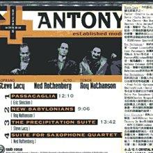 *真音樂* ANTHONYMS / ESTABLISHED MODE OF SPEECH 全新 K17696