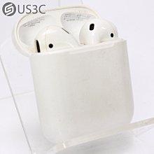 【US3C-高雄店】台灣公司貨 Apple AirPods 2 二代 A2031 A2032 A1602  H1 晶片 無線 藍牙耳機 有線充電版