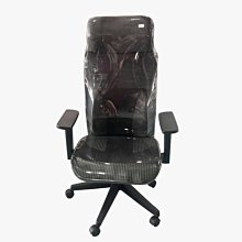 【樂居二手家具館】台中全新中古傢俱家電 EA2482AG*全新黑色網椅(升降後仰)*辦公家具 桌椅 辦公鐵櫃 設備 中古