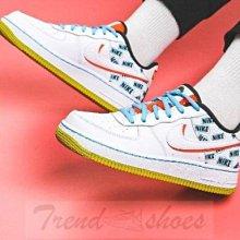 Nike Air Force1 Low AF1 經典 復古 低幫 雙勾 塗鴉 運動 滑板鞋 CZ8139-100 女鞋