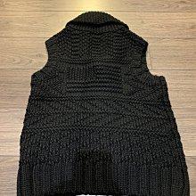 全新正品Polo Jeans Company 黑色編織毛衣背心