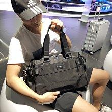 防水布旅行包男女登機包手提短途行李袋大容量旅遊包潮運動健身包