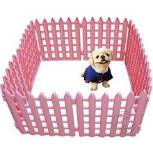 【🐱🐶培菓寵物48H出貨🐰🐹】寵物塑膠圍欄高43公分*10片 特價745元/組送玩具