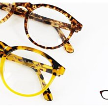 【My Eyes 瞳言瞳語】MEN'S CLUB 小圓形膠框光學眼鏡 復古大膽造型 方大同特色膠框 獨特風格 (ML1)