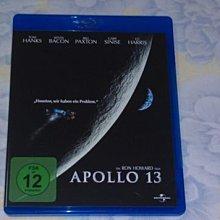 【李歐的二手洋片】幾乎全新湯姆漢克 阿波羅13 藍光 BD 下標就賣