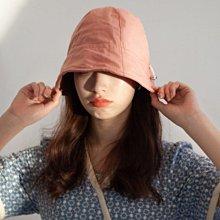 新品特價至6/20調回原價690遮陽帽帽子 顯小臉可折疊漁夫帽遮陽防曬帽 艾爾莎【TOY2494】