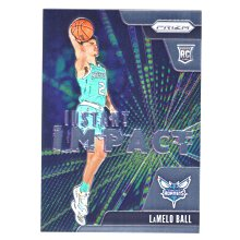 倒數5張!(RC) 黃蜂核心 Lamelo Ball 漲值保證Prizm Instant Impact Rookie系列新人RC金屬卡 2020-21
