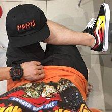 Vans Flame Old Skool 黑白 麂皮 GD 帆布 低筒 FIRE 百搭 火焰 復古 黑色 滑板鞋 男女