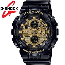 ??夢幻精品屋?? CASIO卡西歐 G-SHOCK 耐衝擊構造防水200米多功能手錶 GA-140GB-1A1