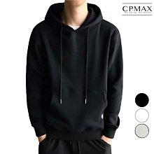 CPMAX 純色加絨連帽T 長袖帽T 連帽T恤 大尺碼連帽T 長袖T恤 t恤 大學T 帽t 男生帽t 連帽長袖 T153