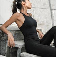 愛運動~韓式運動健身休閒背心內置胸墊/高彈美背緊實修身顯瘦/綜合訓練工字背雙面裸感瑜伽服舞蹈訓練背心上衣  R3232