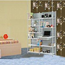 衣櫥【澄境】SD120伸縮屏風電腦桌架置物架  層架/收納架/衣架(G)