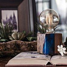 【曙muse】水晶樹酯小燈  樹酯 還養 可調光 造型檯燈 Loft 鄉村工業風