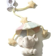 F262彩色小象降落傘 BABY 嬰兒床吊飾 床掛 安撫玩具 Gelato pique