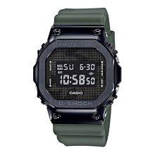 *夢幻精品屋* CASIO G-SHOCK GM-5600B-3 黑金屬質感不鏽鋼殼搭配樹脂錶帶 經典的方型