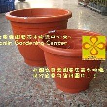 ╭☆東霖園藝☆╮栽培盆(歐洲盆)塑膠紅盆-超值耐用. 耐日晒.. 1呎1