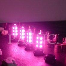【PA LED】T10 13晶 SMD LED 粉紅光 粉光 第三煞車燈 方向燈 小燈 耐熱底座