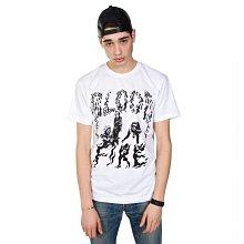 { POISON } ROCKERS NYC BLOOD FIRE TEE 高品質棉料印刷 美國製