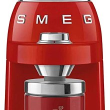 義大利代購 Smeg CGF01 磨豆機,四色供選擇,附贈送轉接頭,可直接插在台灣插座上。