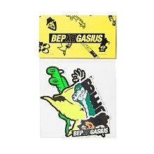 "[ LAB Taipei ] BlackEyePatch GASIUS "" GASIUS STICKER PACK """