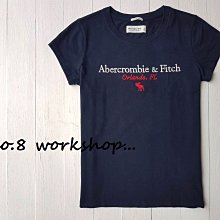 【A&F女生館】☆【Abercrombie麋鹿LOGO刺繡短袖T恤】☆【AFG002R3】(XS-S-M)4/19