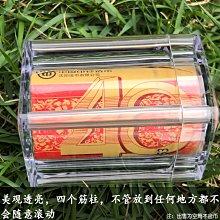 10個起購!-加厚改革鼠年生肖紀念幣改革豬卷幣筒20枚整卷錢幣收藏盒保護桶