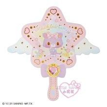 ♥小花花日本精品♥三麗鷗甜夢貓可愛魔法棒寶石造型鏡子手拿鏡化妝鏡補妝鏡~3