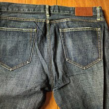 [99go] 全新 日本 ORIGINAL BASIC Uniqlo S-001  系列 SLIM FIT STRAIGHT 牛仔褲 35腰