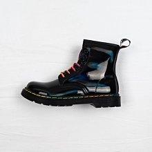 Dr. Martens 1460 8孔 黑色 漆皮 鐳射 短筒 經典款 馬汀靴 女鞋