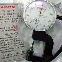 PEACOCK THICKNESS GAUGE-G 日本孔雀牌G型測厚儀 厚薄規 量紙器 織物厚度儀