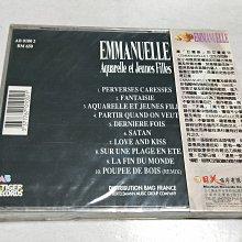 昀嫣音樂(CD144) 法語系列(5) EMMANUELLE 水漣漪與石夢的日子  保存如圖 售出不退