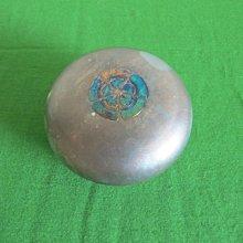 純銀製 香合 重135g (日本香道具 香盒  非香爐 鐵壺 銀壺)