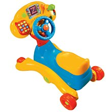 *小踢的家玩具出租*D177     vtech寶寶多功能音樂學習車/方向盤/搖搖馬/學步車~請先詢問