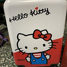 Quaker 桂格 HELLO KITTY 行李箱 登機箱 養氣人蔘