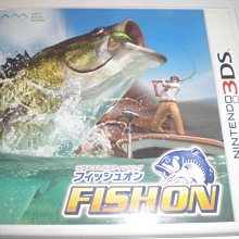 N3DS 3DS 釣魚樂無窮 釣魚 FISH ON 純日版