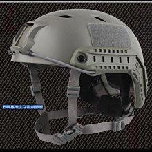 【野戰搖滾-生存遊戲】高品質 美軍 FAST傘兵盔 BJ版【軍綠色】OPS頭盔 特警戰術盔特種部隊特勤特警